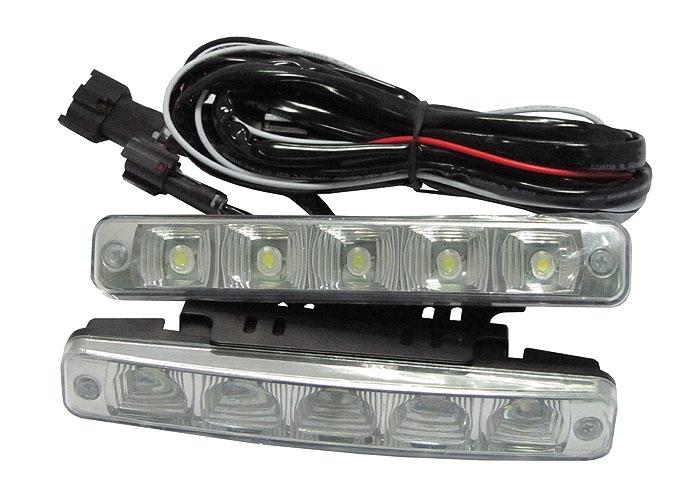 8f54772f125 HL Autoosad | LED lisatuled | - Päevasõidutuled 5-LED L-04
