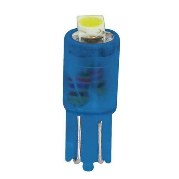 5255e108e79 12V LED pirnid   Lampa Hyper led, 2tk, 1 SMD,T5,W2x4,6d, sinine ...